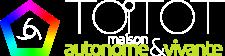 énergy-énergie-autonomie-battery-batterie-autonomy-maison autonome-natuel-maître d'oeuvre-constructeur-électricité-stockage-panneau solaire-solar panel-artisan- autonomie vivante-toitot maison autonome-isolation-éolienne-matériaux-bois-construction-énergies renouvelables-habitat naturel-house-chauffage-logo-pentagone